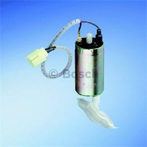 Bränslepump, För motorer med hydrauliska lyftare, I bränslebehållaren
