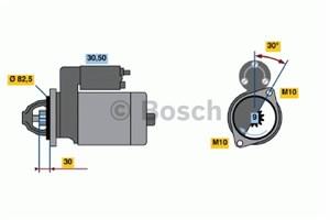 Reservdel:Mercedes Slk 230 Startmotor