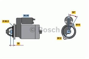 Reservdel:Mercedes S 280 Startmotor