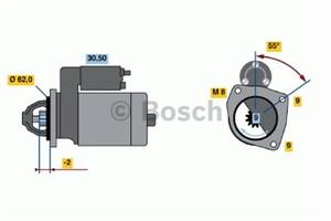 Reservdel:Citroen Ax 11 Startmotor