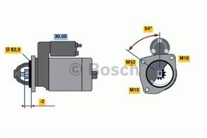 Reservdel:Citroen Xm Startmotor
