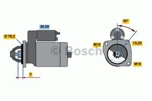 Reservdel:Volvo V90 Startmotor