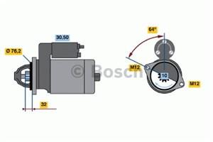Reservdel:Audi A8 Startmotor