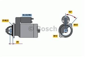 Reservdel:Mercedes S 400 Startmotor