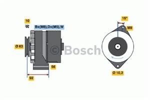Reservdel:Volkswagen Transport Generator