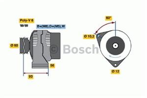 Reservdel:Saab 9000 Generator