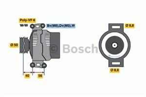 Reservdel:Mercedes Vito Generator