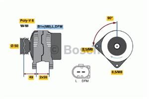 Reservdel:Volkswagen Lupo Generator