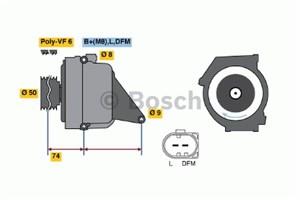 Reservdel:Mercedes Ml 270 Generator