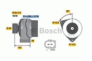 Reservdel:Mercedes C 180 Generator