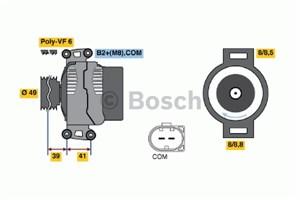 Reservdel:Bmw 316 Generator