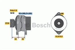 Reservdel:Opel Zafira Generator