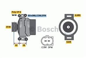 Reservdel:Mercedes E 280 Generator