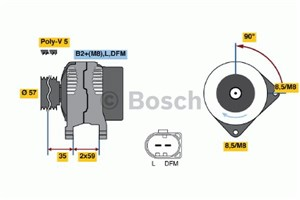 Reservdel:Seat Ibiza Generator
