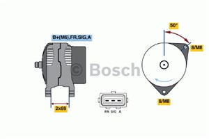 Reservdel:Ford Connect Generator