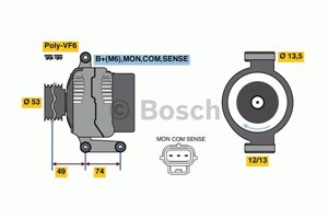 Reservdel:Ford Mondeo Generator