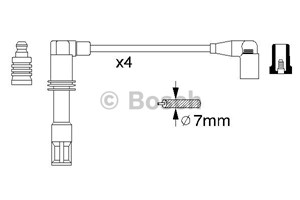 Reservdel:Audi A2 Tändkabelsats