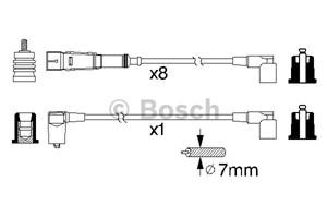 Reservdel:Mercedes S 500 Tändkabelsats