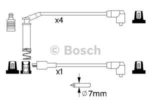 Reservdel:Opel Combo Tändkabelsats