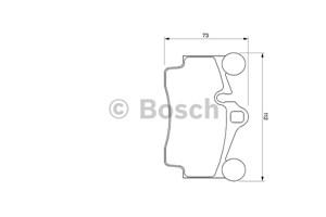 varaosat:Audi Q7 Jarrupalasarja, levyjarru, Takana
