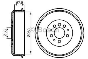 Reservdel:Mercedes Sprinter Bromstrumma, Bakaxel