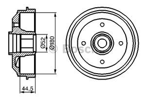 Reservdel:Citroen Zx Bromstrumma, Bakaxel