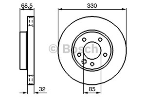 Brake Disc, Front axle, Front axle right, Right
