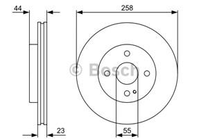 Reservdel:Mazda Mx-5 Bromsskiva, Framaxel