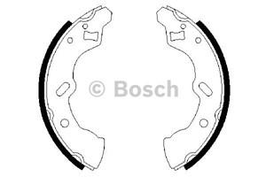 Reservdel:Mazda 121 Bromsbackar, sats, Bak