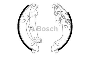Reservdel:Ford Fusion Bromsbackar, sats, Bak