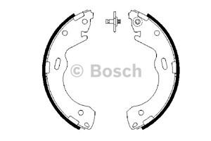 Reservdel:Mazda 626 Bromsbackar, sats, Bak