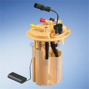 Sensor, brennstoff forråd, I drivstoffbeholder