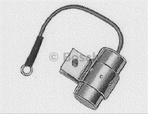 Kondensator, tændingssystem