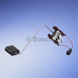 Sensor, brennstoff forråd, Montering