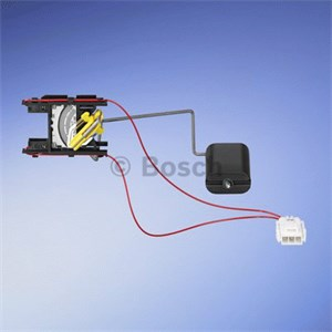 Sensor, bränsletank, Vänster, Påbyggd