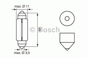 Reservdel:Fiat Uno Glödlampa, innerbelysning