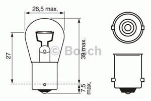 Reservdel:Mazda Demio Glödlampa, backstrålkastare