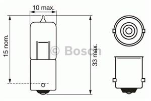 Reservdel:Bmw 520 Glödlampa, positionsljus