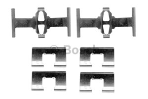 Accessory Kit, disc brake pads, Rear axle