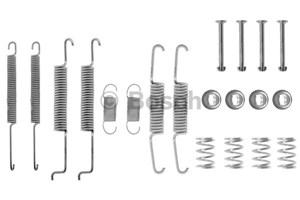 Reservdel:Audi 80 Tillbehörssats, bromsbackar, Bakaxel