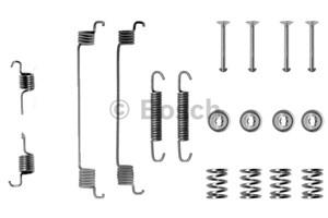 Reservdel:Fiat 500 Tillbehörssats, bromsbackar, Bakaxel