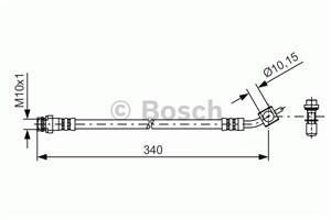 Reservdel:Ford Galaxy Bromsslang, Bak, Yttre, Höger, Vänster, På bromsok