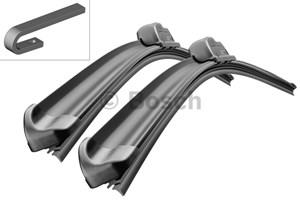 Flat bar wiper blade, Front