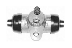 Hjul bremsesylinder, Bak, Bakaksel