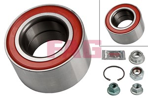Wheel Bearing Kit, Front, Front axle, Rear, Rear axle, Front, left or right, Rear, left or right