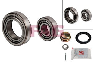 Wheel Bearing Kit, Front, Front axle, Rear, Rear axle