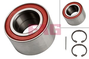 Wheel Bearing Kit, Front axle, Rear axle