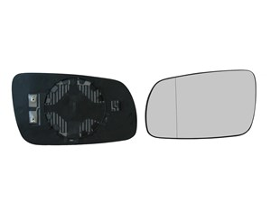 Mirror Glass, outside mirror, Left