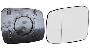 Reservdel:Volkswagen Transport Spegelglas, yttre spegel, Vänster