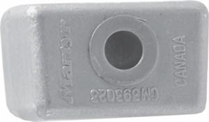 Anod OMC 393023 Zn, Evinrude, Johnson